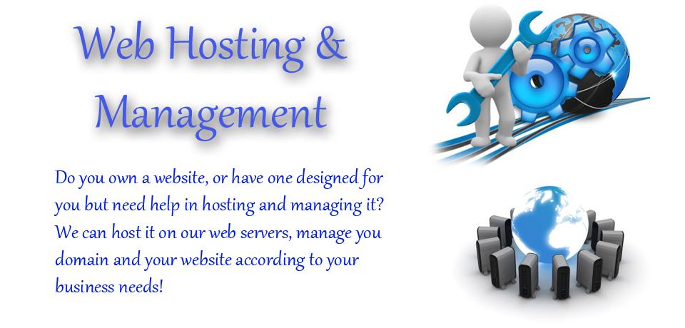 Web Hosting and Website Management